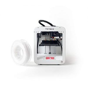 Toybox 3D Printer for Kids, No Software Needed (Includes: 3D Printer, 1 Preselected Printer Food Roll, Free 500+ Toy Digital Catalog, Removable Bed), Starter Bundle